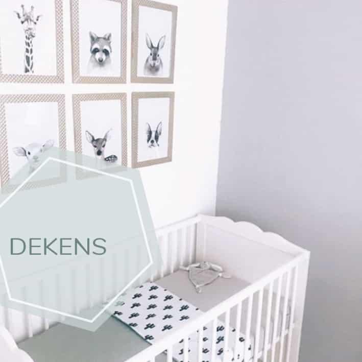 babydekens voor de babykamer zelf samen stellen