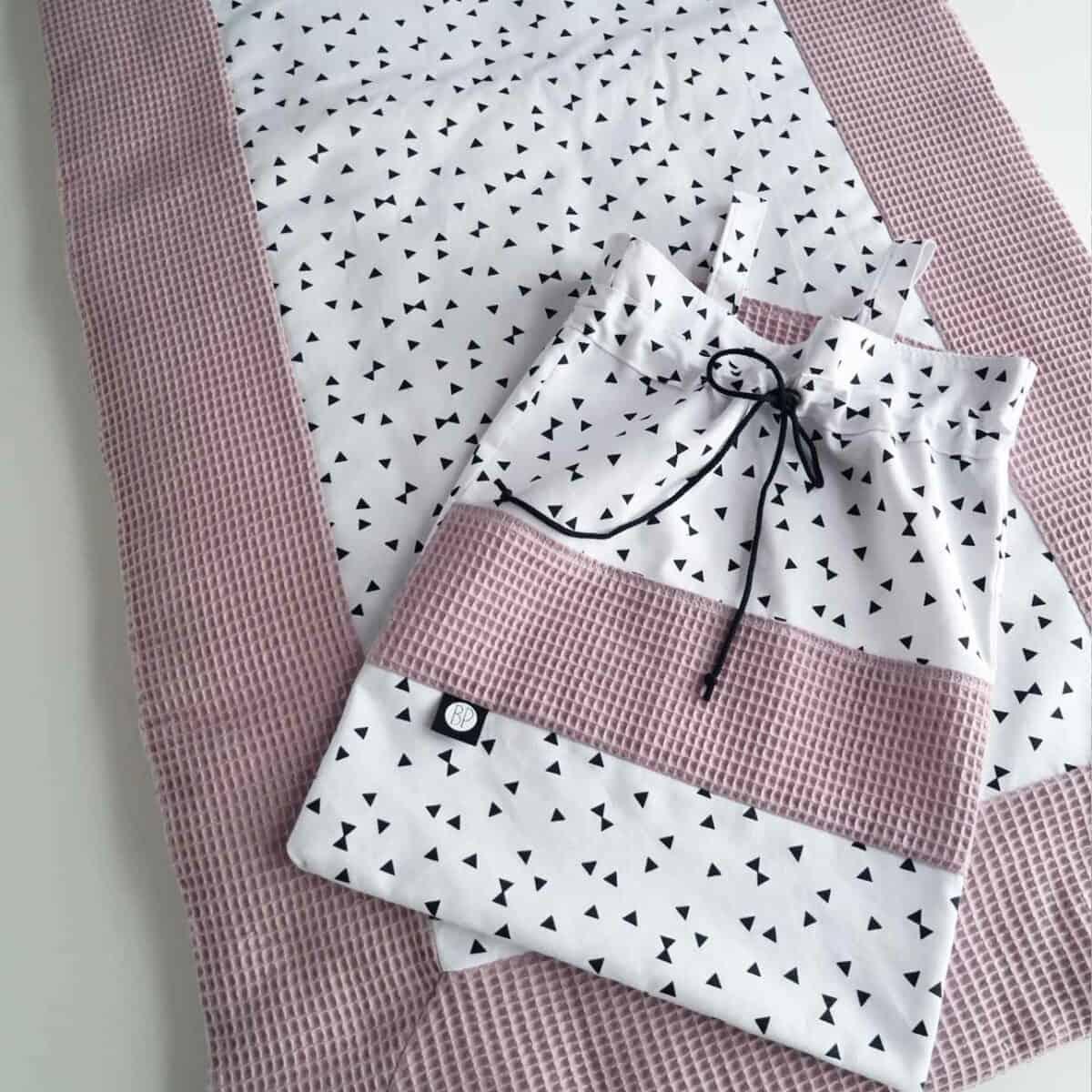 Tweelingboxkleed roze op maat