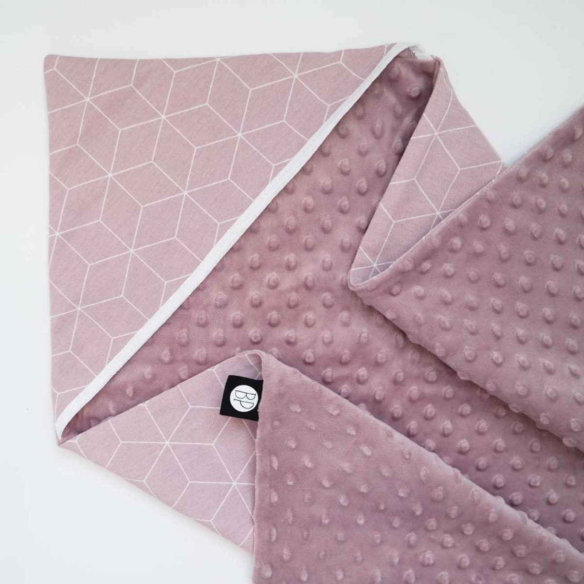 wikkeldoek omslagdoek roze