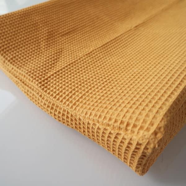 omkleedkussenhoes aankleedkussenhoes oker wafel