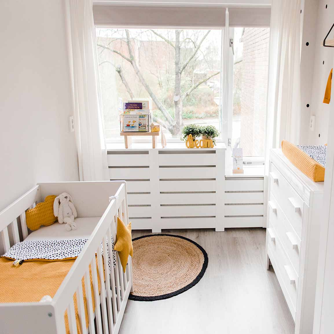 Lookbook babykamer okergeel