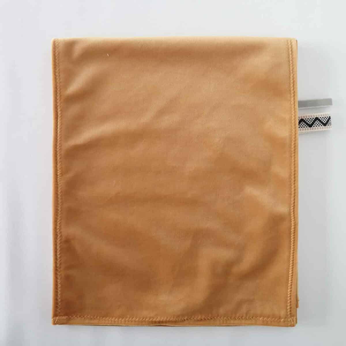 Middenband velvet oker voor omkleedkussen