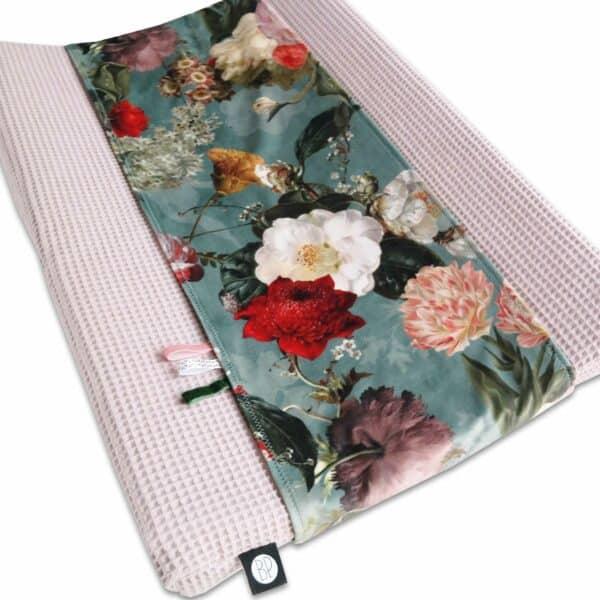 Omkleedkussenband velvet flower