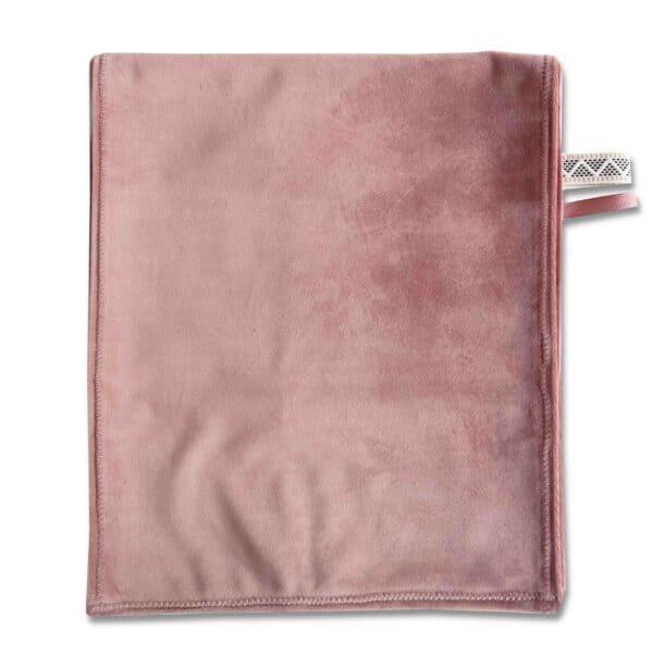 Omkleedkussenband velvet roze