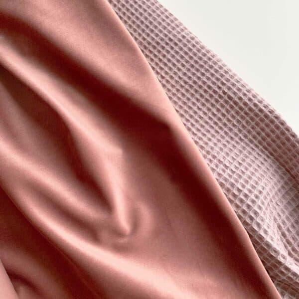 Velvet boxkleed roze stof